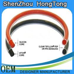 Уплотнительное кольцо с покрытием из тефлона, внутреннее ядро фтор резиновые