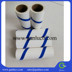 Pano sem fiapos pegajosa papel sobressalente do rolete tensor para remover poeira panos de reabastecimento do Rolete