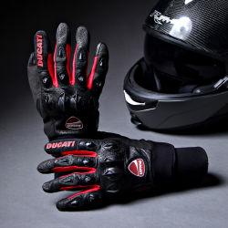 Nuova motocicletta che corre i guanti di cuoio di motocross dei guanti (MAG67)