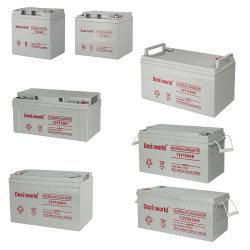 12V 200Ah 150AH 100AH 65ah Batterie Gel plomb-acide rechargeable à cycle profond de l'AGA ODM OEM pour le stockage de la batterie solaire de l'ONDULEUR /Rue lumière VRLA de batterie