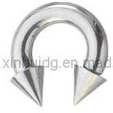 أساسيّ جسم مجوهرات [بيرسنغ] كبيرة مقياس دائريّ حلقة