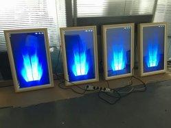 32-дюймовый Topadkiosk ресторан отеля электронной цифровой фоторамки с 178 угол просмотра с антибликовым покрытием матовая масляной живописи экрана