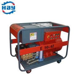 400bar 6000psi 전기 유닛 HP 산업용 워터 클리닝 머신 사용