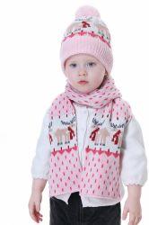 Châle d'hiver chaud pour enfants petit orignal pour garçon et fille Dinosaure motif de Noël motif à motif enfants collier foulard cou chauffe-col Écharpe pour enfants