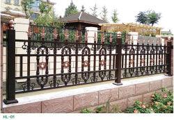 Aluminiumgarten-Zaun-Panel-/Security-Yard-Zaun-/Wrought-Eisen-Stahlzaun-/Galvanized-Metallpfosten-Zaun