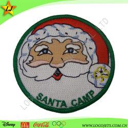 Festival de Navidad 3D Diseño de Moda parche bordado&Hierro insignia en la parte posterior