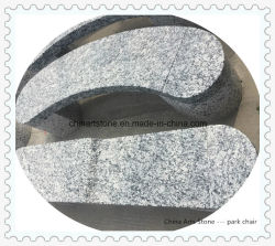 Гранитный камень стенде на парк или сад