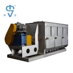 El eje de la máquina mezcladora de doble paleta para alimentar la maquinaria de procesamiento (WZL)