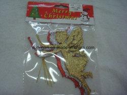 met de Beste Materiële Klassieke Fee van de Ornamenten van Kerstmis