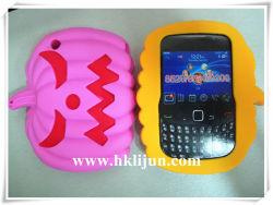 Style de citrouille Halloween Étui en silicone pour Blackberry 8520/8530/9300