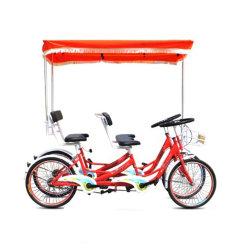 Commerce de gros 7 Personne 8 Personne de vélo Vélo Vélo 8 personne siège Surrey Surrey 4 roues les amateurs de vélo tandem