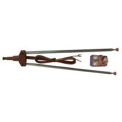 Antena TV antena de varilla en color marrón (TV-1-100B)