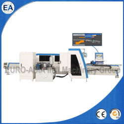 Novo corte de cisalhamento de barramentos CNC rápida máquina de perfuração para o cobre