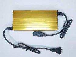 48V 10A/15Un elegante cargador de batería de ion de litio/LiFePO4, máximo de 54,6V 58.4V