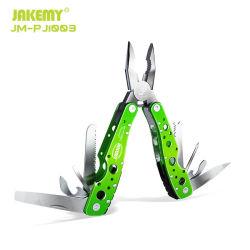 Jakليمي أداة متعددة الوظائف قابلة للطي في الهواء الطلق مع مقبض من الفولاذ المقاوم للصدأ