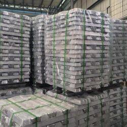 El 99,99% Aiuminum Fabricante de lingotes de aluminio Ferro para la fabricación de acero y fundición