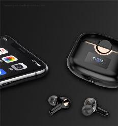 TWS Bluetooth 5.0 draadloze oortelefoon hoofdtelefoon met vingerafdruk Touch-hoofdtelefoon