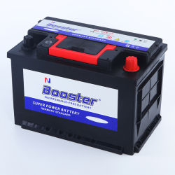 De bonne qualité Fabricant Prix MF DIN&75 12V 75Ah batterie de voiture