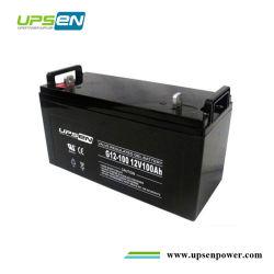 Batterie au gel à cycle profond de l'aga 12V 65Ah 100AH 150AH 200AH 150Ah pour système d'énergie solaire