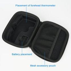 Cassa portatile del termometro di corsa del sacchetto di EVA di memoria della casella di trasporto di caso dell'organizzatore del supporto sicuro Shockproof impermeabile protettivo su ordinazione del quadrato per Thermoscan