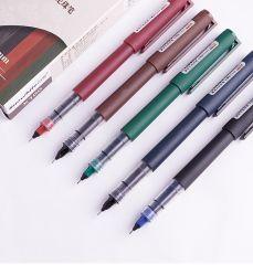 Rullo Snowhite per forniture per ufficio a colori vintage Soft Touch gel Pen Penne