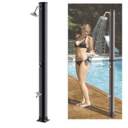 Alluminio esterno interno colonna doccia solare per piscina e. Giardino