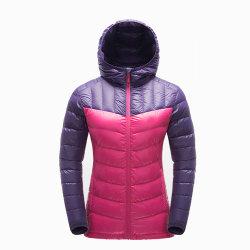 도매 주문 여자 의복 숙녀는 싸게 90%를 아래로 깃털을 단다 재킷을 누비질했다