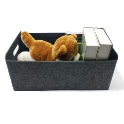 Embalaje Embalaje al por mayor de juguetes libros cesta de regalo el Cuarto de Baño Dormitorio otros artículos de papelería Escritorio Joyería Caja de almacenamiento de fieltro