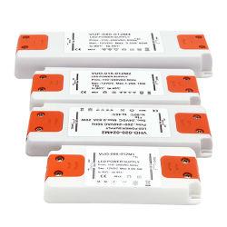 مهايئ برنامج تشغيل فائق النحافة بقدرة 50 واط، 12 فولت، طاقة LED رفيعة الإمداد