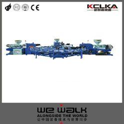 2 La couleur de la machine Machine de moulage par injection PVC TPR