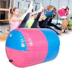 100X85cm膨脹可能なPVCローラーの適性の体操の屋内体操のヨガのコラム療法のPhysio練習のツール