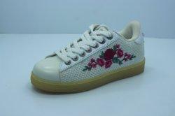 Китай производитель пользовательские марки детей школьного кроссовки вышивкой детский обувь