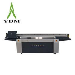 YDM تنسيق كبير 2.5*1.3م آلة الطباعة الرقمية الخشب UV سطح مستو الطابعة