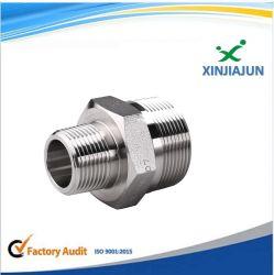 Cnc-industrielle Material-doppeltes Scheibe-Gefäß/hydraulische Befestigungen, schneller Anschluss, hydraulischer Adapter