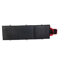 Sunpower Mono-Crystalline 50W Painel Solar Dobrável multifuncional para laptop Camping