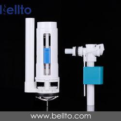 صمام شطف المرحاض مزدوج الشطف مع أداة التحكم في الأسلاك/الكابلات الصمام