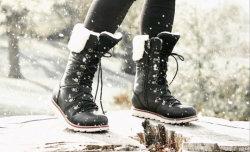 Nuevo Diseño de Moda Invierno botas de mujer botas de nieve Raquetas de nieve