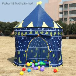 China proveedor OEM tienda de juguetes para niños en el interior Cabaña Princesa Juego Castillo Paly