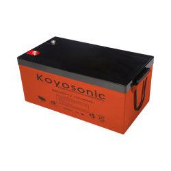 UL, CE SGS ISO potencia motriz Cortadora de Césped de la batería de alta tasa de descarga de batería Batería 12V 255Ah