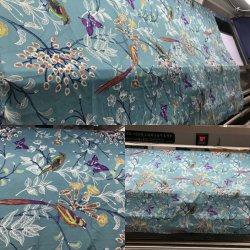 現代様式の柔らかいブラシをかけられた綿の感じは120GSMポリエステル寝具の敷布のより安い3PCキルトカバーセットを印刷した