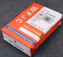 PP BOPP Kraftpapier laminierte mikroporöse Zement Sand Popcorn Bean Ventil Landwirtschaftlichen Verpackungs-Beutel Open-Mund Dünger-Beutel