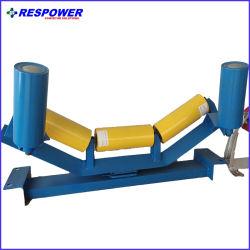 중국 테이퍼 기중 조정 조정 컨베이어 롤러 그룹 벨트 문제 컨베이어