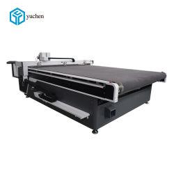 Automatische führende Denim-Tuch-Messer CNC-Ausschnitt-Maschine Yuchen