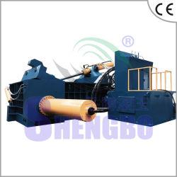 Compacteur de recyclage de ferrailles d'acier (tourner-out balle)