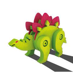 Animal personalizado 3D Stegosaurus Puzzle e educacional de espuma de EVA Puzzle