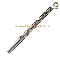 Fornecedor profissional DIN338 Torção HSS brocas de perfuração com revestimento de superfície Tin-Coated (JL-HTDT)