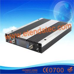 20dBm 70dB de Mobiele HulpLte FDD GSM 850MHz PCS1900 Aws2100 2g 3G 4G rf van de Versterker CDMA Repeater van het Signaal van de Telefoon van de Cel met LCD Dispay