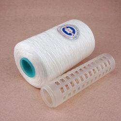 Ne 52/3 filés de polyester du fil à coudre de semi-mat