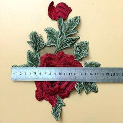 Большой размер вышивки 3D-Flower для рюкзаки, свадебные платья и т.д.