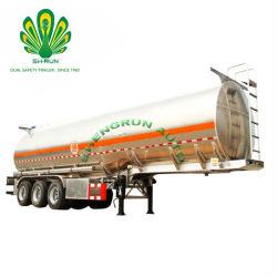De Semi Aanhangwagen die van de Container van de Tank van ISO Brandbare Vloeistof Vervoer